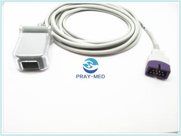 China Cable de extensión del adaptador Db9 de Nellcor Spo2, cable adulto del sensor Spo2 de Nellcor proveedor