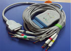 Factory provide CE/ISO approval high quality GE marqutte MAC500 10lead ekg cable with leadwire 2029893-001 with TPU